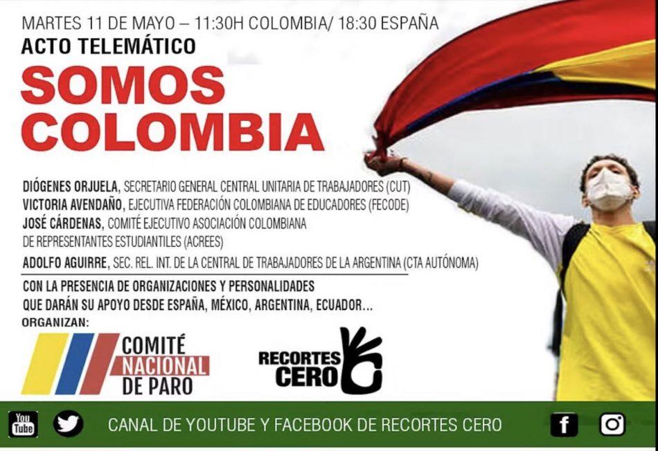 """42 organizaciones y personalidades lanzan la iniciativa """"Somos Colombia"""""""