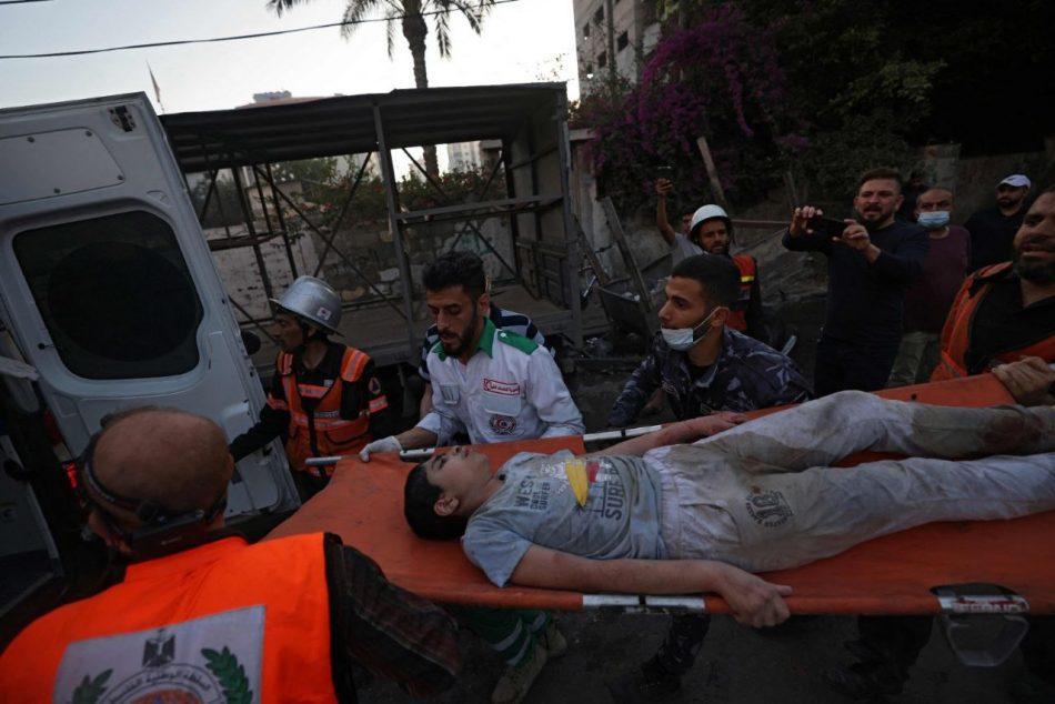 Aumenta a 174 la cifra de muertos por bombardeos israelíes