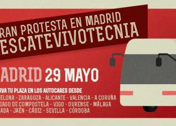 Manifestación el 29 de mayo en Madrid para exigir el rescate de los animales de Vivotecnia
