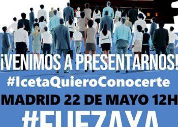 Manifestación estatal de personal público en abuso de temporalidad, el 22 de Mayo en Madrid