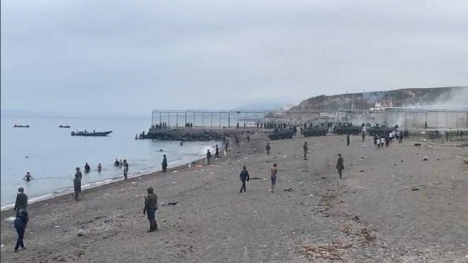 Denuncias y demandas sobre lo ocurrido en Ceuta
