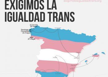 La Rioja acoge la campaña #ExigimoslaIgualdadTrans que reivindica el derecho de autodeterminación de las personas trans