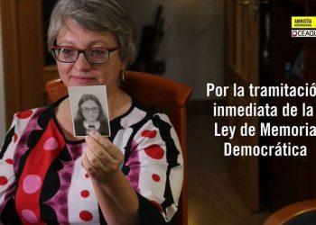 Acto Público para reclamar urgencia en el trámite de la Ley de Memoria Democrática