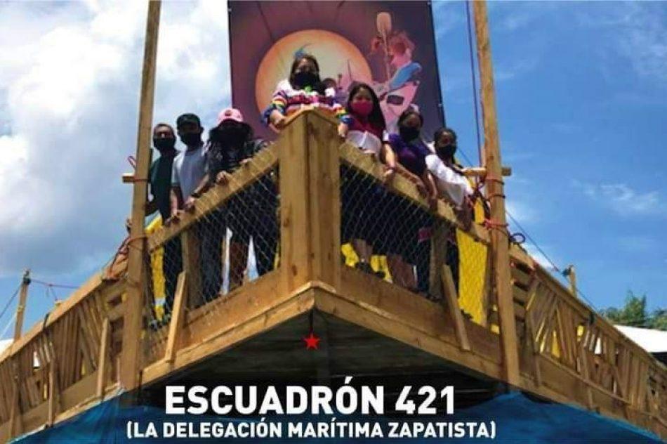 El EZLN camino a Europa. Una montaña navegando a contrapelo de la historia