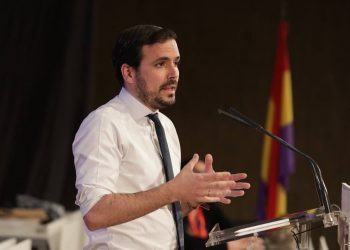 Alberto Garzón, ratificado hoy como máximo responsable de IU con un 87% de apoyos en la primera reunión de la Coordinadora Federal emanada del proceso de la XII Asamblea