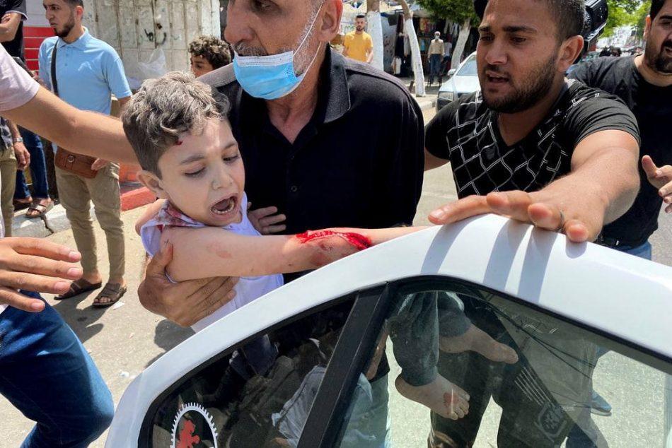Gaza: 32 muertos, entre ellos 10 niños y una mujer y 220 heridos por bombardeo israelí a sectores residenciales