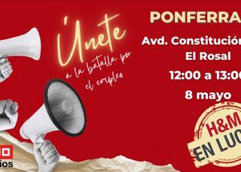 El PCE se solidariza con las trabajadoras de H&M en Ponferrada