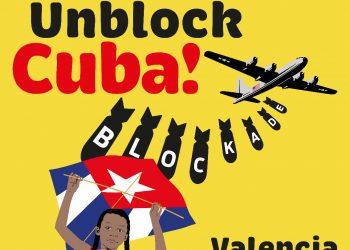 La Plataforma contra el bloqueo de EEUU a Cuba del País Valencià presenta las acciones en apoyo a la votación en la ONU