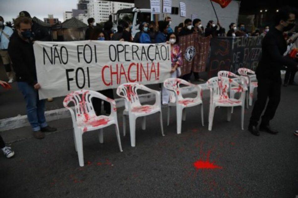 La banalización de la muerte y la masacre de los pobres en Brasil