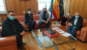 O subdelagado do Goberno mostra disposición a elevar a demanda sobre o símbolo falanxista de Celanova á Secretaría de Estado de Memoria