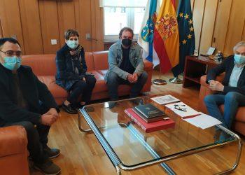 O subdelegado do Goberno mostra disposición a elevar a demanda sobre o símbolo falanxista de Celanova á Secretaría de Estado de Memoria