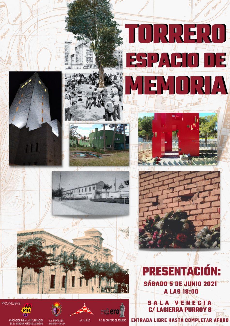 Presentación del proyecto «Torrero Espacio de Memoria» en Zaragoza