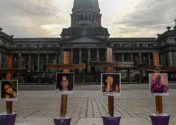 Argentina reportó más de 280 casos de femicidios en 2020