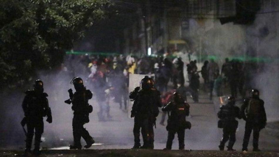 Bogotá registra otra noche de represión por parte de la Esmad