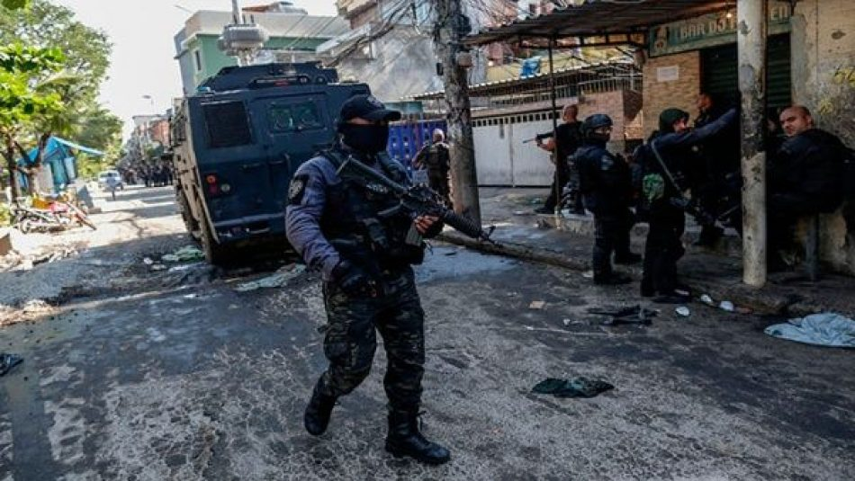 Ordenan investigación de operativo policial en Rio de Janeiro