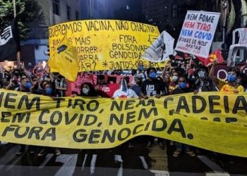 Brasileños protestan contra políticas gubernamentales racistas