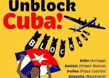 Barco solidario y cuatro concentraciones: «Biden, escucha al mundo: Unblock Cuba!», 30 de Mayo y 23 de Junio