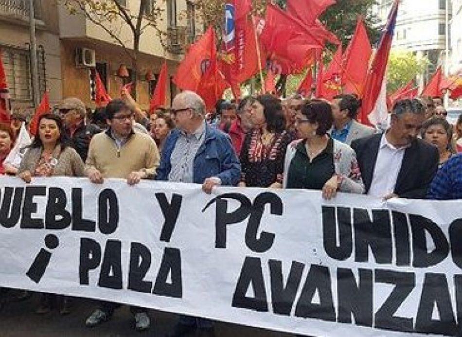 Felicitamos al pueblo chileno y al Partido Comunista de Chile por las victorias en las elecciones