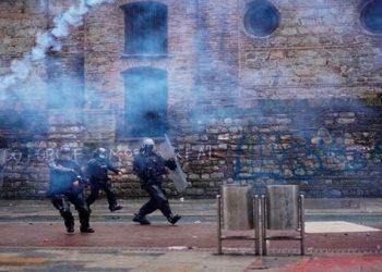 Denuncian represión en Bogotá durante homenaje a las víctimas de las protestas