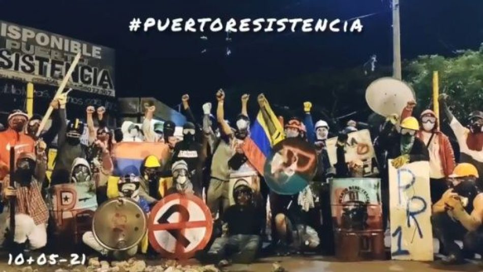Denuncian que prosigue represión policial en Cali, Colombia