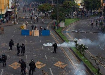 Represión policial de protestas sociales en Colombia deja 27 asesinados