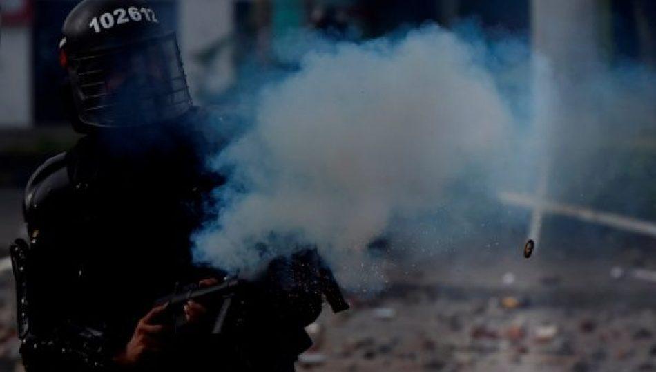 Denuncian que fuerzas policiales colombianas disparan a población civil