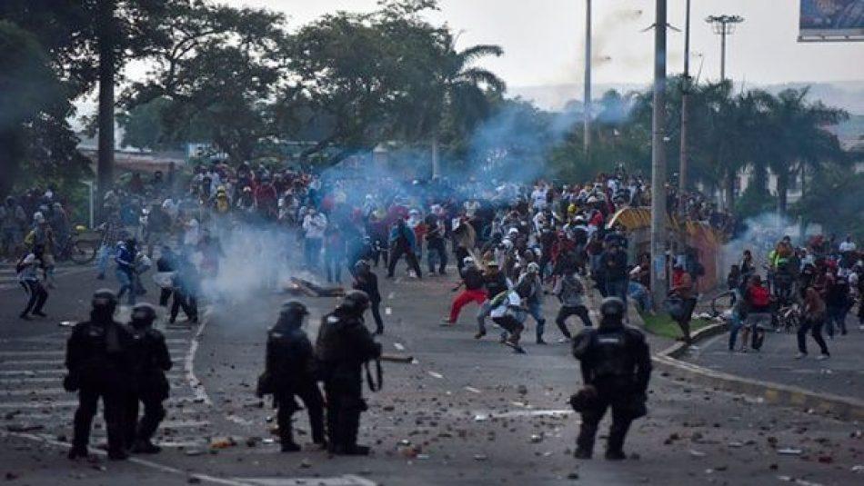 Al menos 8 muertos y decenas de heridos en Cali (Colombia), por la represión policial a las protestas