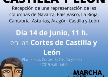 Izquierda Unida Castilla y León apoya las Marchas en defensa de la Libertad del Pueblo Saharaui
