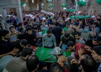 Sube a 119 número de muertos por bombardeos israelíes sobre Gaza