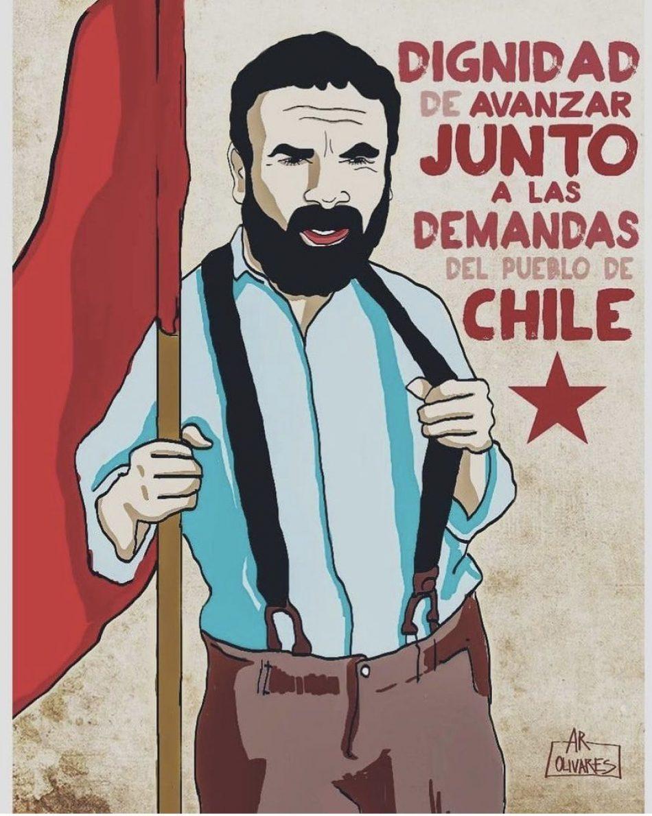Saludo al pueblo chileno por su gran victoria electoral