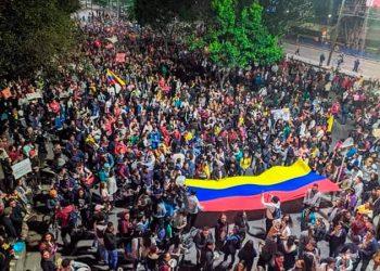 ¡Abajo Iván Duque! ¡Viva el pueblo colombiano!