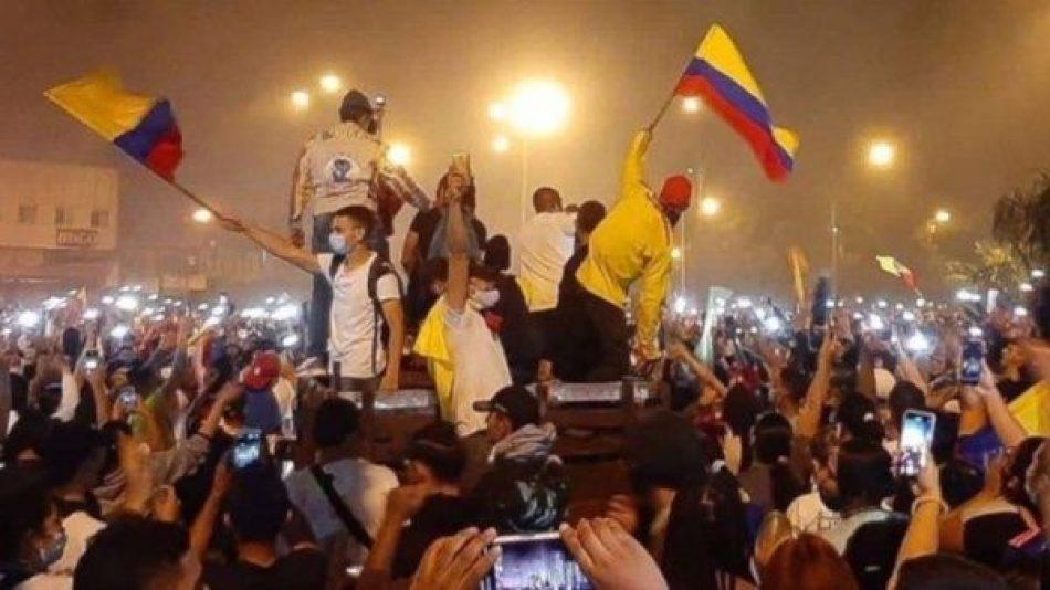 Continúan protestas en Colombia contra modelo neoliberal