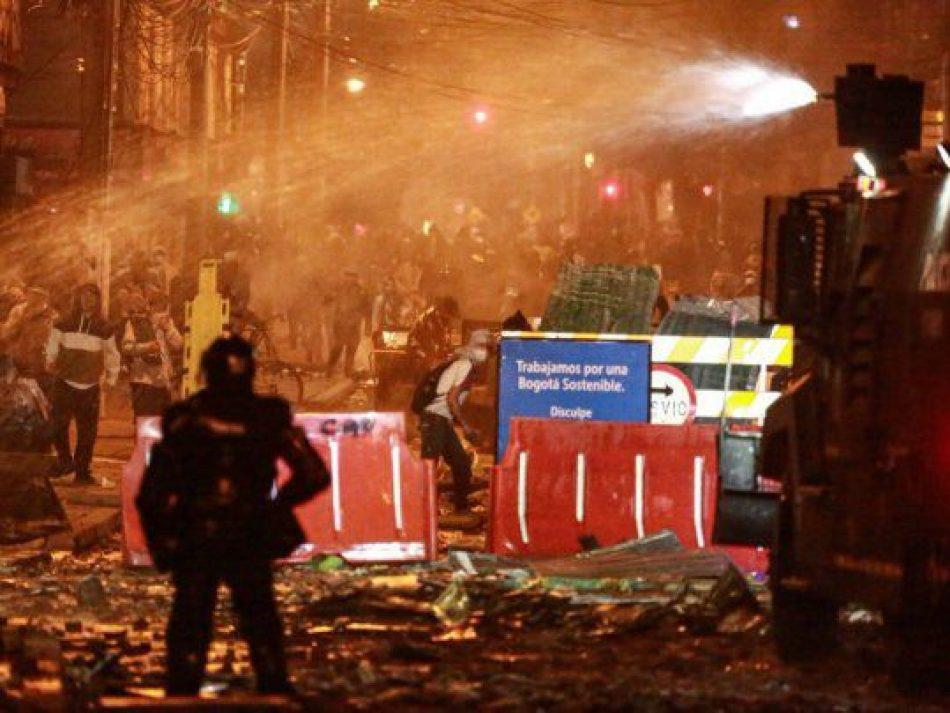 Continúan las protestas y la represión en Colombia