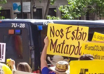 La ONG Temblores documenta casi 3.000 denuncias de abuso policial durante Paro en Colombia