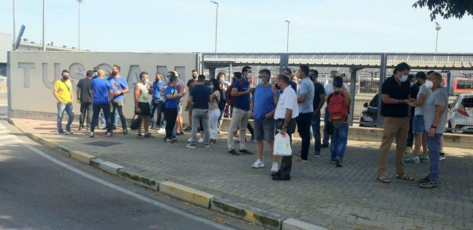 Más País Andalucía se solidariza con la situación de los trabajadores de la bolsa de empleo de TUSSAM, sin in-formación sobre su situación desde hace meses