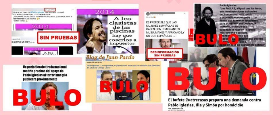 57 bulos y desinformaciones sobre el ex secretario general de Unidas Podemos, Pablo Iglesias