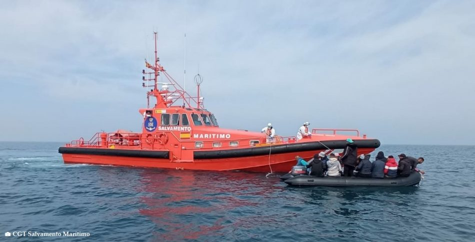 CGT acusa a las autoridades sanitarias de poner en riesgo la vida de los profesionales de Salvamento Marítimo ante la decisión de no vacunarles contra el Covid-19