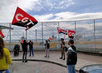 CGT advierte que estarán en todos los frentes, judiciales y sindicales, contra la represión de los trabajadores de los remolcadores de RUSA S.L.