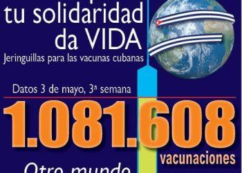 Envío de un millón de jeringuillas y actos contra el bloqueo 30 mayo y 23 de junio: nace el Movimiento Estatal de Solidaridad con Cuba (MESC)