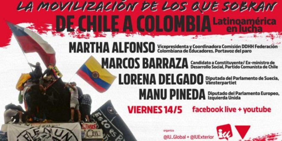 IU Global conversará este viernes sobre el estallido social en Colombia y Chile