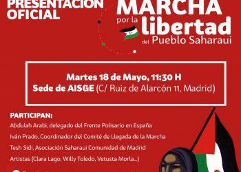 Hoy se presenta en Madrid la Marcha Saharaui