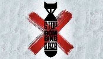 Condenamos los bombardeos contra la Franja de Gaza y llamamos a la movilización solidaria con Palestina