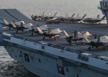 Informes: Londres envía portaviones cerca de bases rusas en Siria