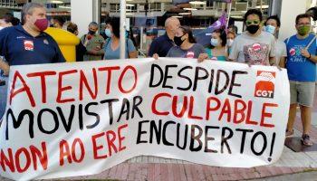 """CGT denuncia """"un ERE encubierto"""" en Atento"""