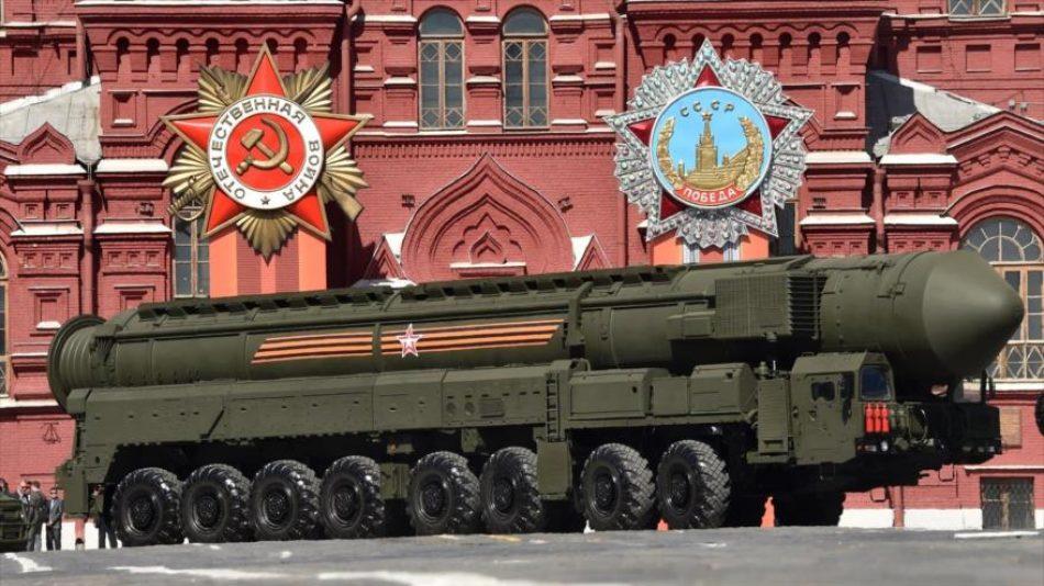 Rusia advierte de usar armas nucleares ante una agresión militar
