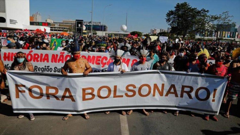 """Lula: Brasil, harto de """"tonterías"""" de Bolsonaro, lo derrota en 2022"""