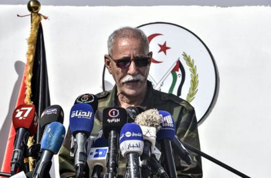 Y el líder del Frente Polisario abandonó España