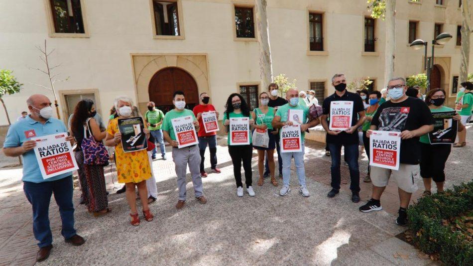 CCOO y STERM ganan el recurso interpuesto contra la Consejería de Educación de la Región de Murcia por la imposición de unos servicios mínimos ilegales