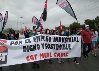 La CGT manifiesta su satisfacción por la movilización contra el cierre de Airbus Puerto Real en Cádiz