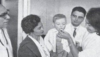 Así se eliminó la poliomielitis en España